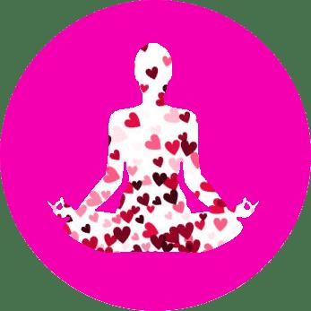Association Yoga solidaire : logo