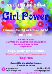 Atelier de yoga Girl power