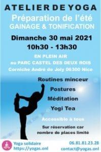 Atelier de yoga en plein air Dimanche 30 mai 2021 - Minceur