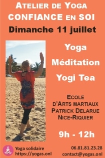 Atelier de Yoga confiance en soi